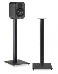 Q Acoustics 3000ST Speaker Stands for 3010 and 3020 speakers in Black Pair