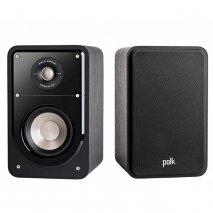 Polk S15 Signature HiFi Home Theatre Compact Bookshelf Speaker - Black pair