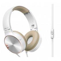 Pioneer SE-MJ722 On-Ear Headphones - Brown