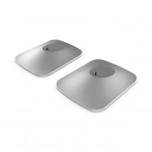 Kef P1 Desk Pad Pair in White