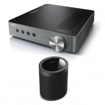 Yamaha WXA-50 Wireless Amplifier with MusicCast 20 Wireless Speaker - Black