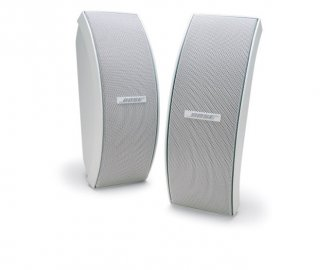 Bose 151 Environmental Speakers in White