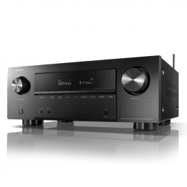 Denon AVRX2700H 7.2 Ch 8K AV Receiver with 3D Audio, Heos and Voice Control angle