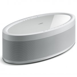 Yamaha MusicCast 50 Wireless Speaker in White angle