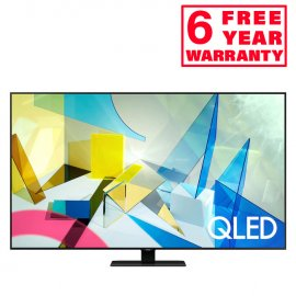 Samsung QE55Q80TA 55 inch QLED 4K HDR 1500 Smart TV with Tizen OS front