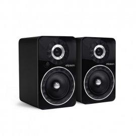 Elipson Prestige Facet 6B BT Wireless Bookshelf Speakers in Black