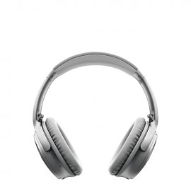 Bose QuietComfort 35 II Noise Cancelling Wireless Headphones Silver Front