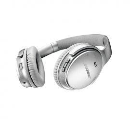 Bose QuietComfort 35 II Noise Cancelling Wireless Headphones Silver Back