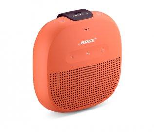 Bose SoundLink Micro Bluetooth Speaker in Bright Orange Side