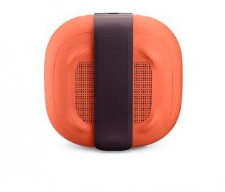 Bose SoundLink Micro Bluetooth Speaker in Bright Orange Back