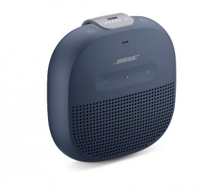 Bose SoundLink Micro Bluetooth Speaker in Midnight Blue Side