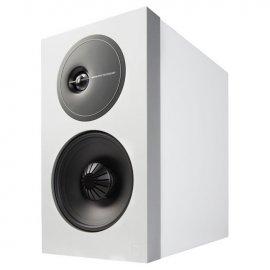 Definitive Technology D7 High Performance Bookshelf Speakers in White front