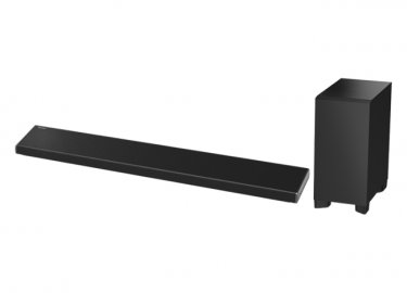 Panasonic SCHTB690 NFC Bluetooth 4K 3.1 Channel Soundbar with Wireless Subwoofer Side