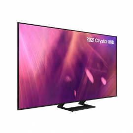 Samsung UE43AU9000 2021 43 inch AU9000 Crystal UHD 4K HDR Smart TV angle