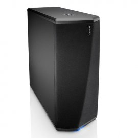 Denon DSW-1H Wireless Subwoofer with Heos Built in angle