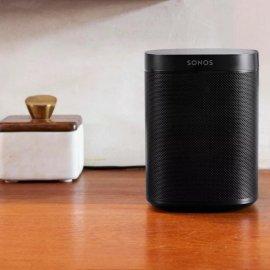 Sonos One Wireless Speaker with Amazon Alexa in Black - Gen 2