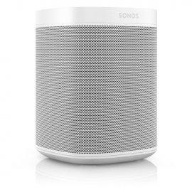 Sonos One Wireless Speaker with Amazon Alexa in White - Gen 2 angle