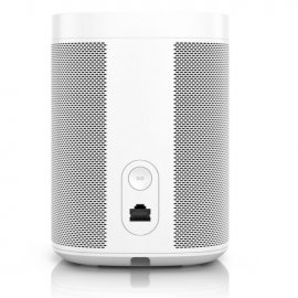 Sonos One Wireless Speaker with Amazon Alexa in White - Gen 2 back