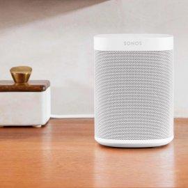 Sonos One Wireless Speaker with Amazon Alexa in White - Gen 2