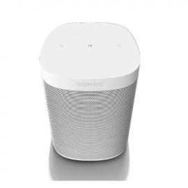 Sonos One Wireless Speaker with Amazon Alexa in White - Gen 2 front