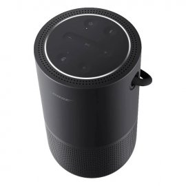 Bose Portable Wireless Bluetooth Home Speaker with Voice Control - Black top