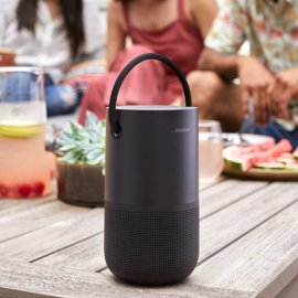 Bose Portable Wireless Bluetooth Home Speaker with Voice Control - Black