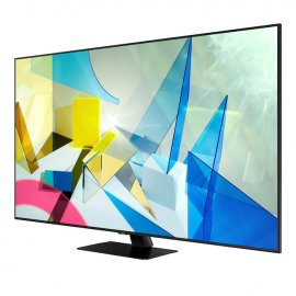Samsung QE55Q80TA 55 inch QLED 4K HDR 1500 Smart TV with Tizen OS angle