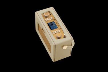 Roberts RD70PC DAB+/DAB/FM Revival Radio with Bluetooth - Pastel Cream