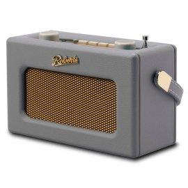 Roberts REVIVAL-UNO DAB/DAB+/FM Digital Radio with Alarm - Dove Grey angle