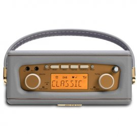 Roberts REVIVAL-UNO DAB/DAB+/FM Digital Radio with Alarm - Dove Grey top