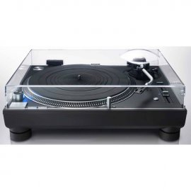 Technics SL-1210GR Direct Drive Turntable System - Black cover