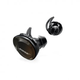 Bose SoundSport Free Wireless In-Ear Headphones in Black angle