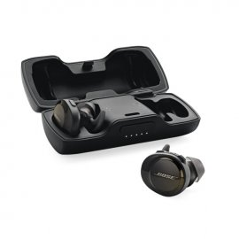 Bose SoundSport Free Wireless In-Ear Headphones in Black case