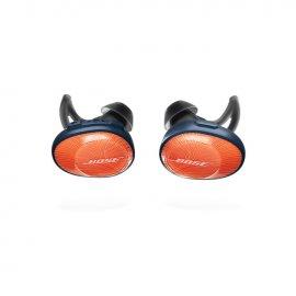 Bose SoundSport Free Wireless In-Ear Headphones in Bright Orange front