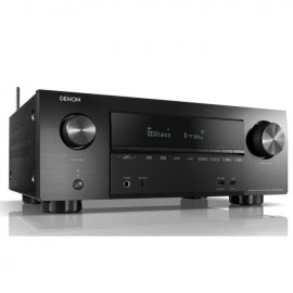 Denon AVRX2600H 7.2 Ch 4K Ultra HD AV Receiver with 3D Audio and Heos angle