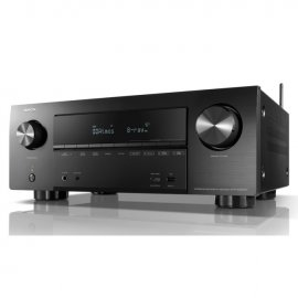 Denon AVRX2600H 7.2 Ch 4K Ultra HD AV Receiver with 3D Audio and Heos side