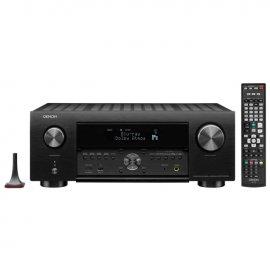Denon AVRX4500 9.2 Channel 4K AV Receiver with Alexa Voice Control front
