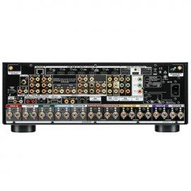 Denon AVCX6500H 11.2 Ch 4K AV Surround Amp with Amazon Alexa Voice Control Black back