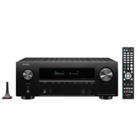 Denon AVRX2600H 7.2 Ch 4K Ultra HD AV Receiver with 3D Audio and Heos